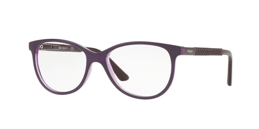 Top Dark Blue//violet Transp Vogue VO5030 Eyeglass Frames 2384-51