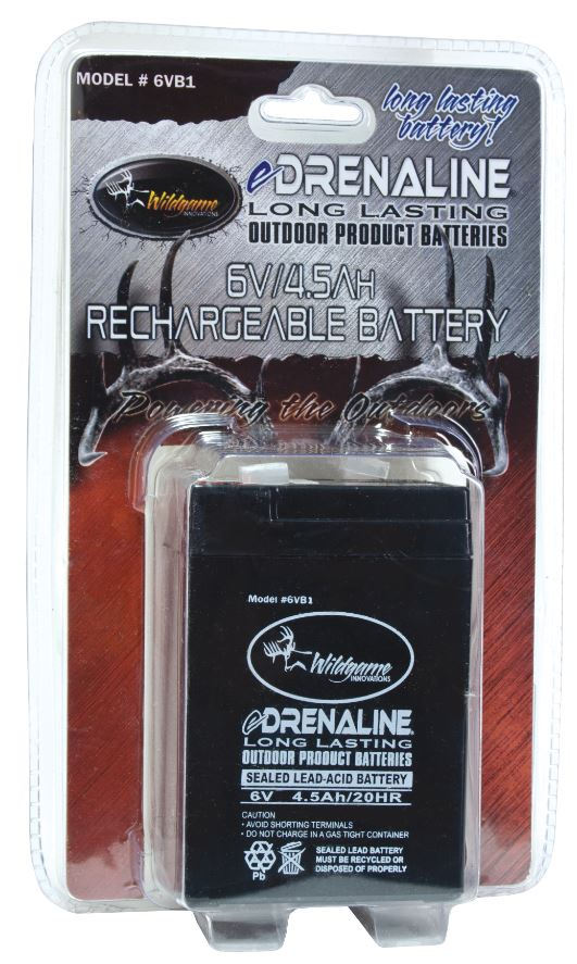 Wildgame Innovations 6 Volt Rechargeable Battery - 6V/4 5A