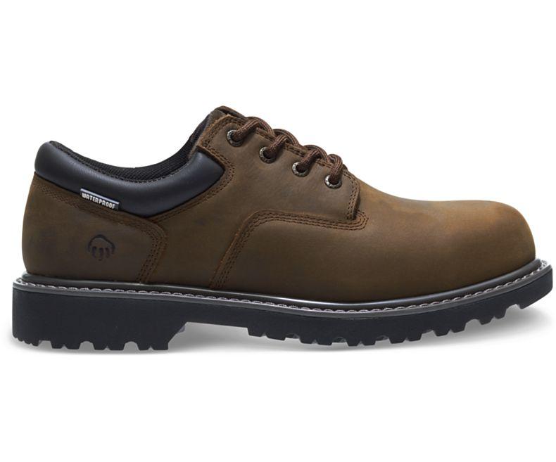 99e4f59ac2c Wolverine Floorhand Waterproof Steel-Toe Oxford Boot - Men's