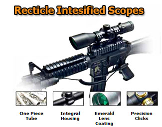 Leapers Recticle Intensified Scopes