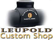 Leupold Riflescope Custom Shop - Leupold FX-II 6x36 Riflescope Personalized by Leupold Custom Shop