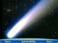 Screenshot of Comet on Meade mysky Personal Sky Guide 04540