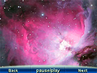 Screenshot of Nebula on Meade mySky Personal Nightsky Navigation 04540