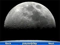 Screenshot of Moon on Meade 04540 my Sky