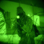 Use of night vision devices by elite special forces.